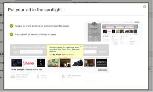 Spotlighted-Gumtree-Ad